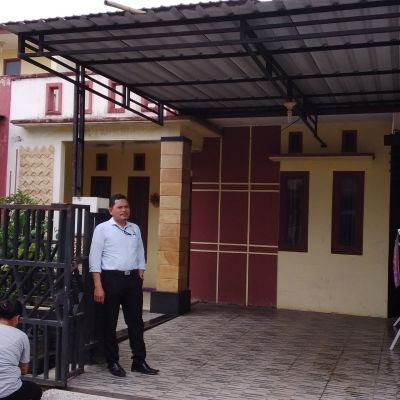 BRI Tebing TInggi- tanah seluas  114M2  berikut bangunan diatasnya,di  Jln Meranti Kompleks CBK 2  Kelurahan  Bagelen Kecamatan Padang Hilir
